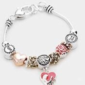 Mom charm bracelet for Sale in Beverly Hills, CA