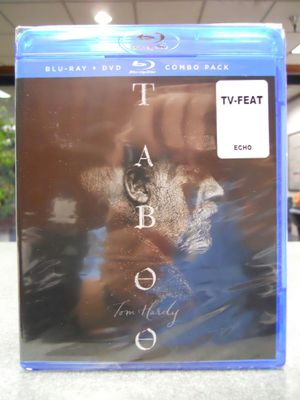 Taboo Season 1 One Blu-ray & DVD Combo Pack Tom Hardy BBC Brand New for Sale in Los Angeles, CA