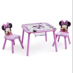 Disney Minnie Mouse Table And Chairs Set 3-6 Years for Sale in Westminster, CA
