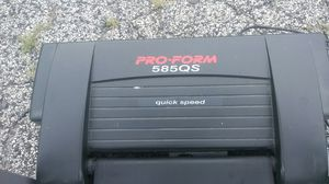 Proform Treadmill excel.cond.measures time-speed-distance laps calories burned pulse heart rate also inclines folds up storage or trans. (DEL. POSS.) for Sale in Philadelphia, PA