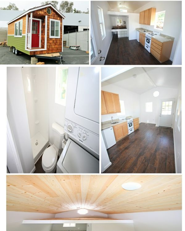 Tiny house cottage 198 sq ft mobile fully finished