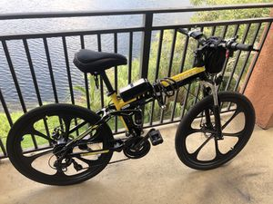 ANCHEER Electric Bike Folding Electric Mountain Bike for Sale in Miramar, FL