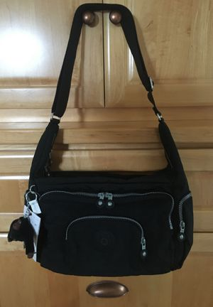 Kipling New Europa Crossbody Purse Black for Sale in Gig Harbor, WA