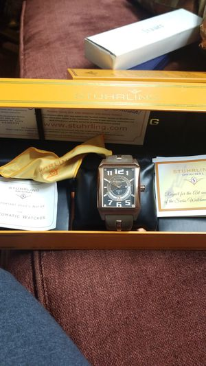 STUHRLING MADMAN AUTOMATIC WATCH for Sale in Springfield, VA