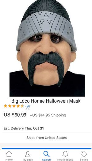 Big loco homie mask for Sale in Antioch, CA