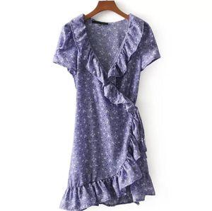 RUFFLE PURPLE CASUAL DRESS for Sale in Fairfax, VA
