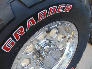 17X9 Polished Rims & LT 295 70 17 General X3 Tires*8X170**RED LETTERS* for Sale in Aurora, CO