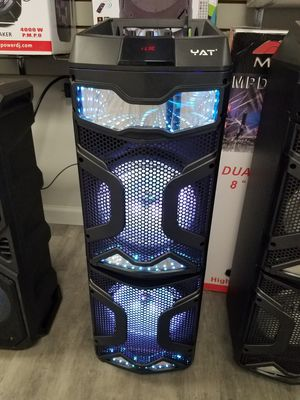 YAT 9800W Bluetooth Party Speaker for Sale for Sale in Dallas, TX