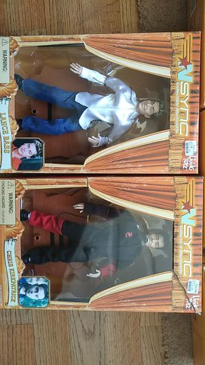 Living toys. Nsync collectable marionettes for Sale in Columbus, OH