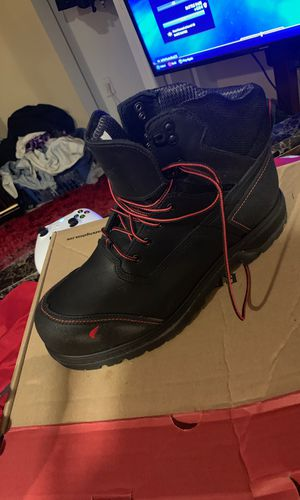 Red wing work boots for Sale in Columbus, OH