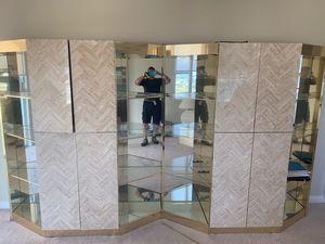 cupboard 2 pieces. No mirror for Sale in Deerfield Beach, FL
