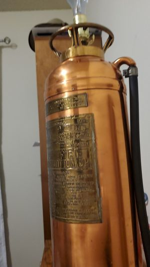 Vintage fire extinguisher lamp. for Sale in Montebello, CA
