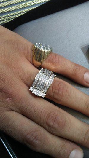 Men's 10kt gold and diamond ring for Sale in Virginia Beach, VA