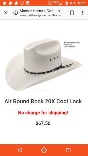 53eac746e3d Master hatters cool lock cowboy hat for Sale in Sierra Vista