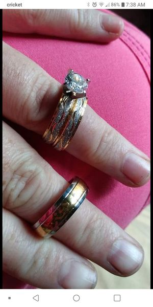 his and hers wedding ring set for Sale in Columbia, TN