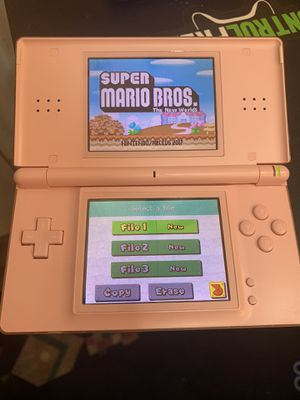 Nintendo ds lite with games for Sale in Redwood City, CA