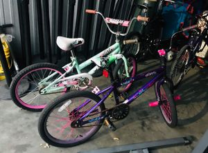 """2* girl bike 20""""..good for ages 5-9yrs..good for beginners..only $65 for both for Sale in Providence, RI"""