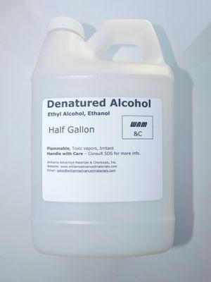 Denatured Alcohol, Ethanol, Technical Grade-Half Gallon(2Qt) solvent for Sale in Clairton, PA