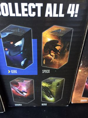 Star Trek set of 4 collectible glasses for Sale in Los Altos, CA