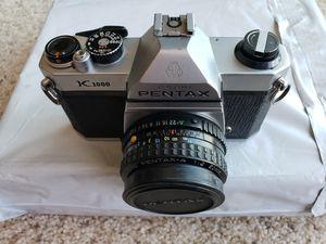 Pentax K 1000 Film Camera for Sale in Sausalito, CA