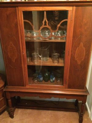 Antique China cabinet 1900 to 1920's for Sale in Silver Spring, MD