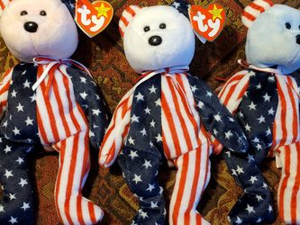 Beanie Babies Spangle Red White And Blue for Sale in North Highlands,  CA