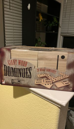 Giant wood dominos for Sale in Sacramento, CA
