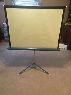 Vintage projector screen for Sale in Audubon, PA