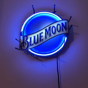 Blue Moon Neon Bar Sign for Sale in Irvine, CA