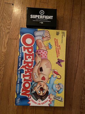 Operation game and superfight card games for Sale in Los Angeles, CA