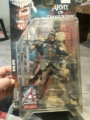 2001 McFarlane toys Army of Darkness Figure sealed 2001 for Sale in Grand Prairie, TX