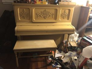 Kimball piano and bench for Sale in Fullerton, CA