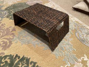 Rattan tray for Sale in Bay City, MI