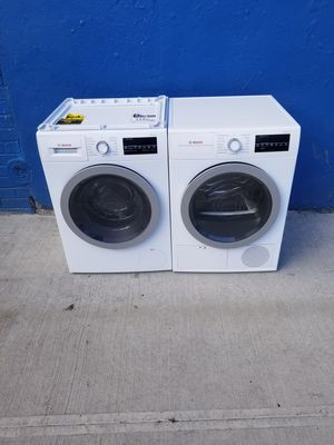Bosh 500 Series washer/ Dryer.!220 volt for Sale in The Bronx, NY