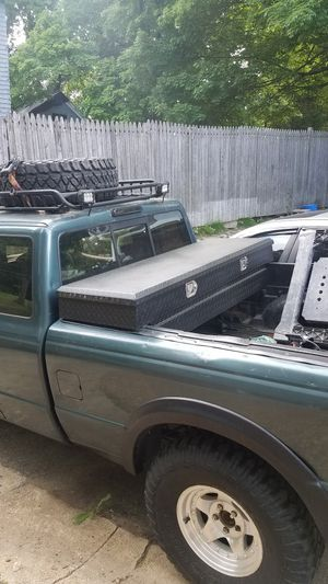 5 foot Tool box ( Currently on a Ford Ranger) for Sale in Southbridge, MA