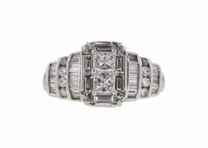 Gorgeous 1.89 Diamond Ring for Sale in Bedford, VA