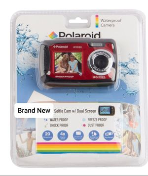 Polaroid 20 Megapixel Digital Camera Waterproof Brand New for Sale in Sacramento, CA