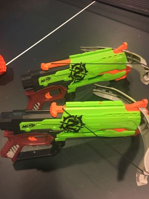 Nerf Guns sets of 2 for Sale in Gambrills, MD