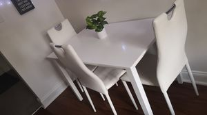 Kitchen table + 3 chairs for Sale in Edgewater Park, NJ