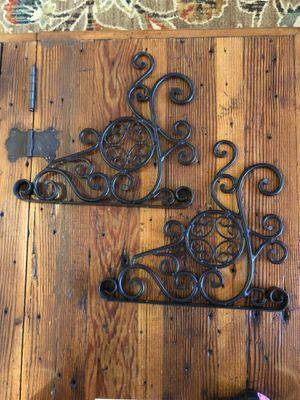 Decorative Wrought Iron Brackets for Sale in Camarillo, CA