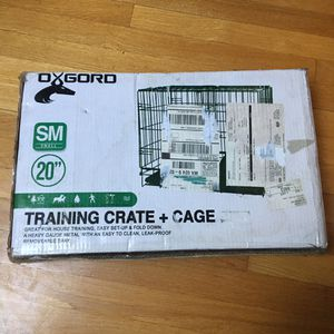 Metal Dog Crate - For Small Dogs/animals - Brand New, Never Opened for Sale in Boston, MA