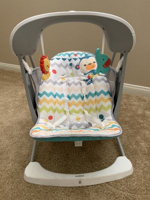 Fisher price swing and vibration bouncer for Sale in Chino, CA