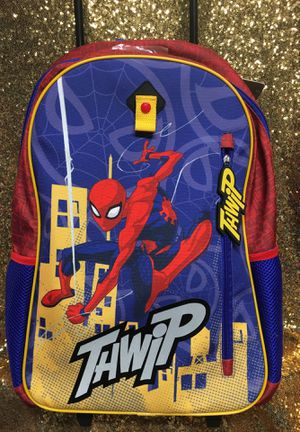 Spider 🕷Man Rolling Backpack 🎒 for Sale in Palmdale, CA