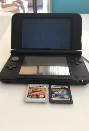 $160 Old Version Nintendo 3DS XL with 2 games for Sale in Coral Springs, FL