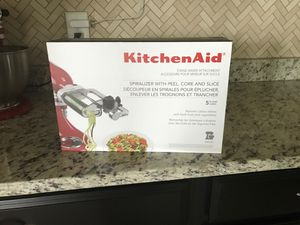 Kitchen Aid Spiralizer , Peel, Core,Slice for Sale in Lakewood Ranch, FL