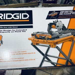 """Ridgid 8"""" Tile Saw for Sale in Mesquite, TX"""