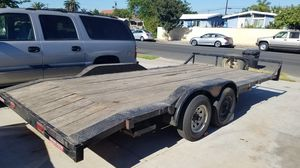 18 x 8 foot flat bed trailer 4200 OR BEST OFFER! for Sale in Stanton, CA