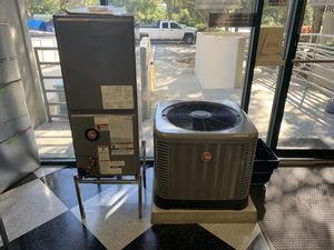 New Rheem 2 Ton 14 SEER AC System - Installed - Free UV Light for Sale in Clearwater, FL