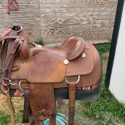 Billy Cook Western Saddle Made In USA for Sale in Norco,  CA