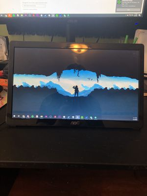 Portable USB Monitor - Extra Laptop Monitor for Sale in Seattle, WA